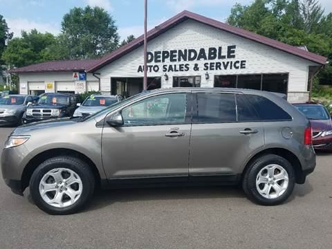 2014 Ford Edge for sale at Dependable Auto Sales and Service in Binghamton NY