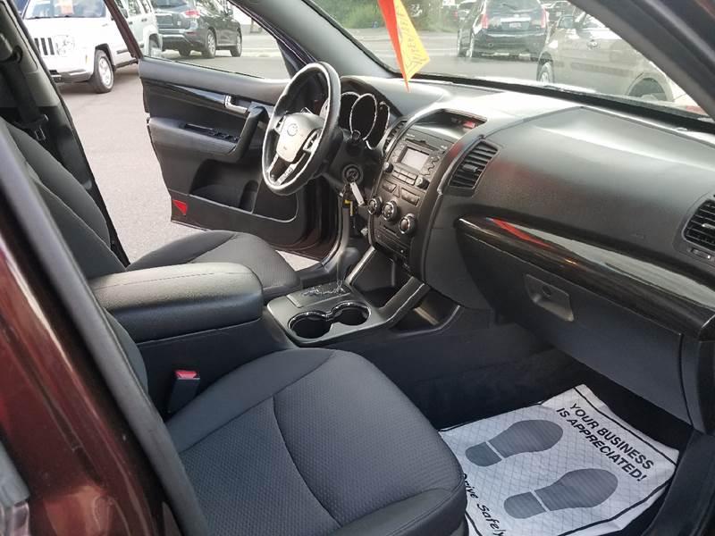 2012 Kia Sorento for sale at Dependable Auto Sales and Service in Binghamton NY