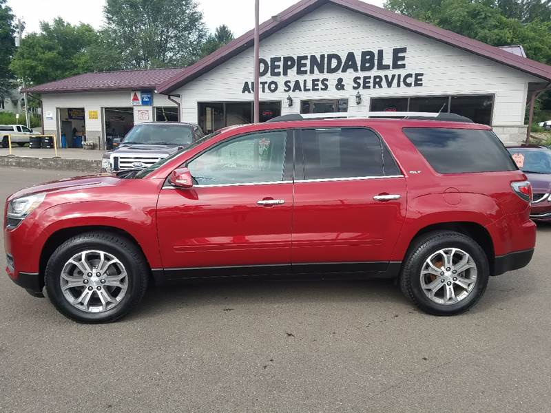 2014 GMC Acadia for sale at Dependable Auto Sales and Service in Binghamton NY