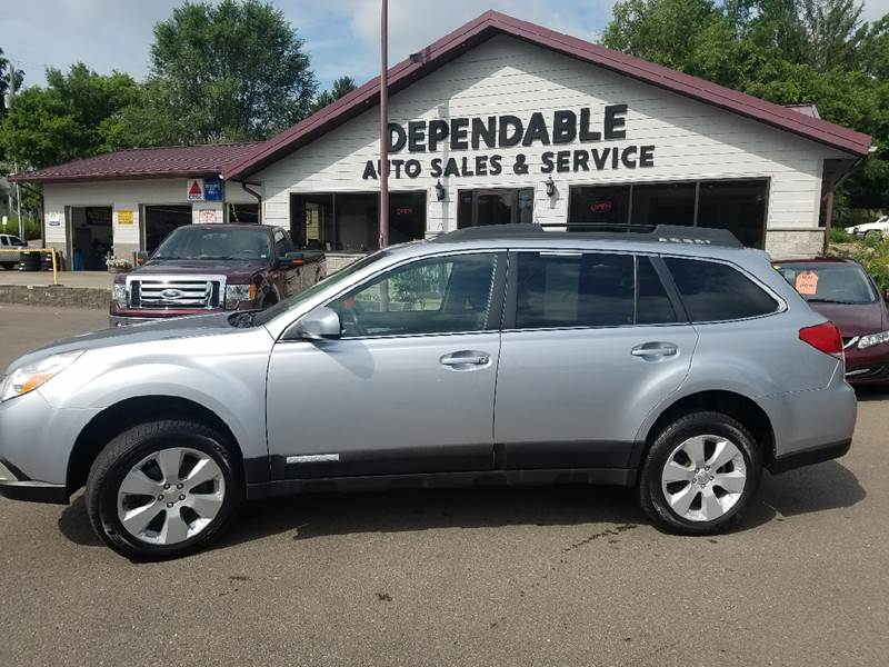 2012 Subaru Outback for sale at Dependable Auto Sales and Service in Binghamton NY