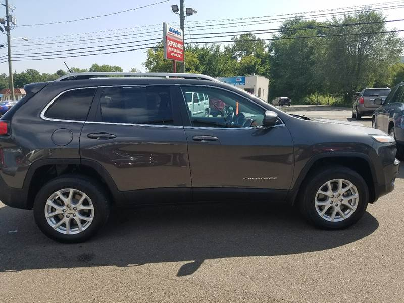 2014 Jeep Cherokee for sale at Dependable Auto Sales and Service in Binghamton NY