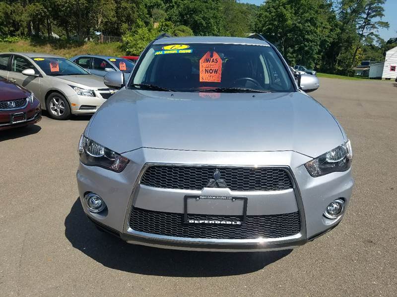 2012 Mitsubishi Outlander for sale at Dependable Auto Sales and Service in Binghamton NY