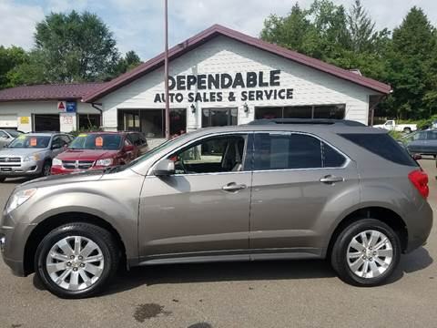 2011 Chevrolet Equinox for sale at Dependable Auto Sales and Service in Binghamton NY
