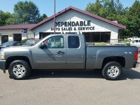 2011 Chevrolet Silverado 1500 for sale at Dependable Auto Sales and Service in Binghamton NY