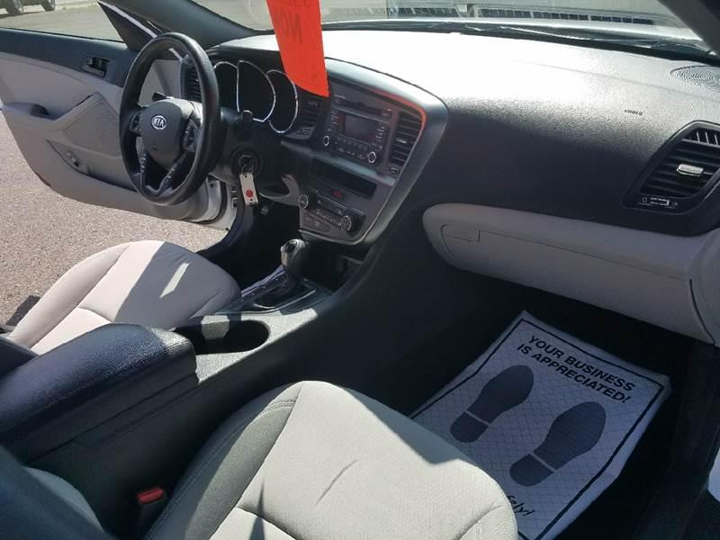 2012 Kia Optima for sale at Dependable Auto Sales and Service in Binghamton NY