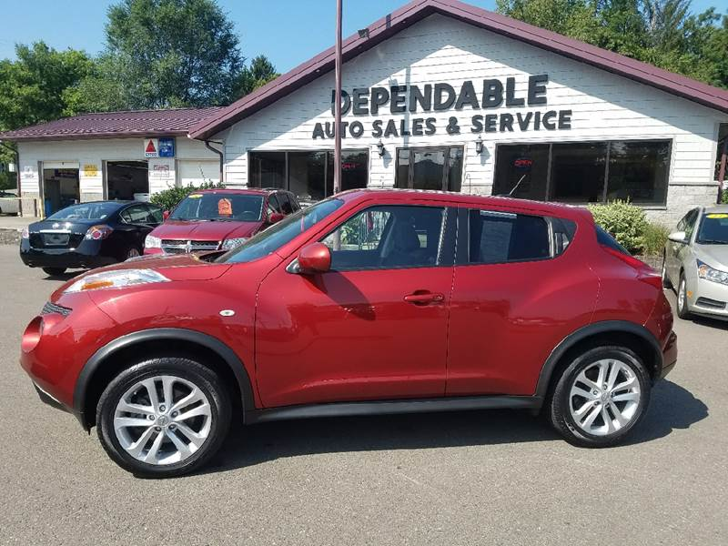 2012 Nissan JUKE for sale at Dependable Auto Sales and Service in Binghamton NY