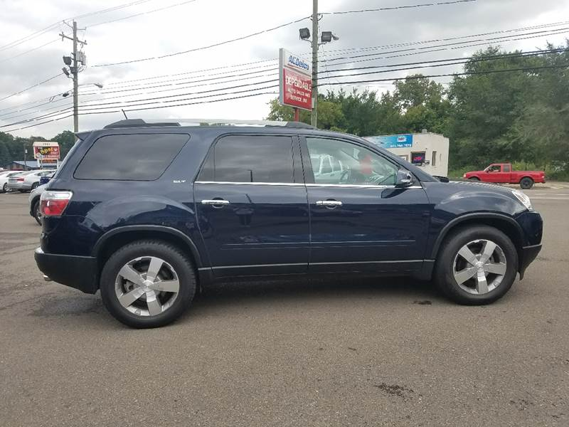 2011 GMC Acadia for sale at Dependable Auto Sales and Service in Binghamton NY
