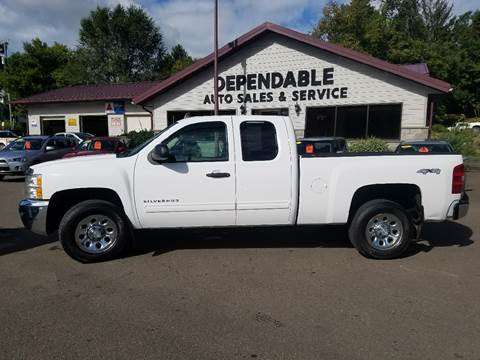 2012 Chevrolet Silverado 1500 for sale at Dependable Auto Sales and Service in Binghamton NY