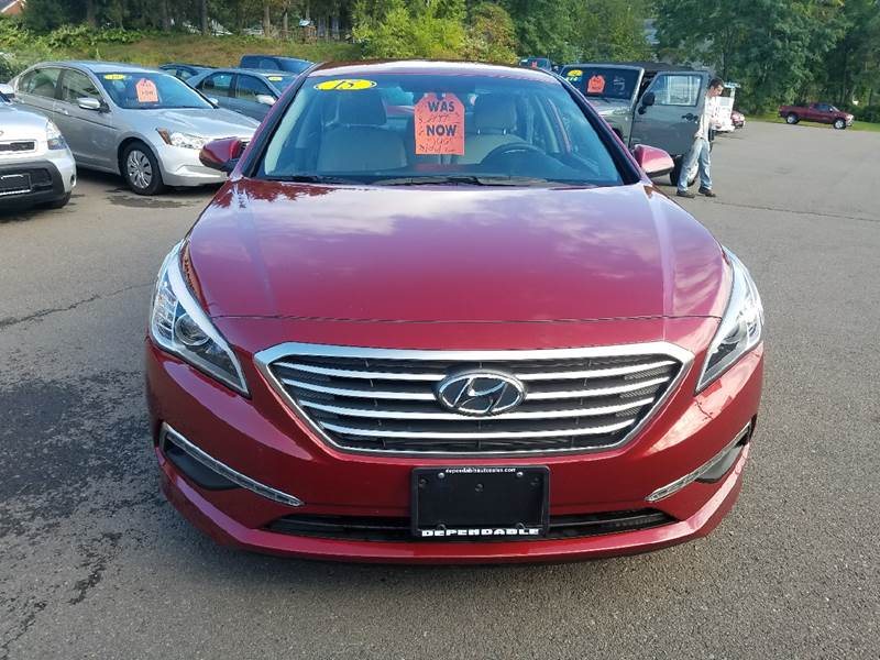 2015 Hyundai Sonata for sale at Dependable Auto Sales and Service in Binghamton NY