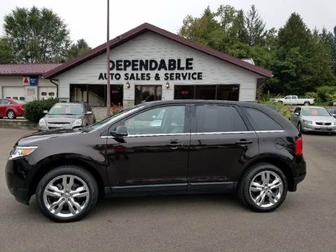 2013 Ford Edge for sale at Dependable Auto Sales and Service in Binghamton NY