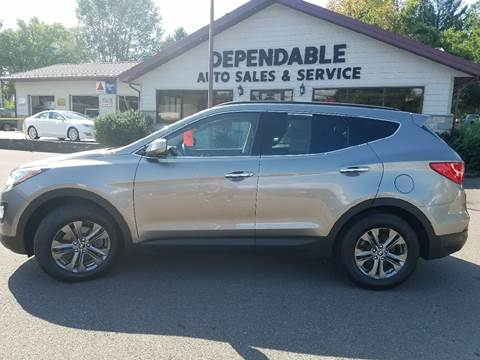 2014 Hyundai Santa Fe Sport for sale at Dependable Auto Sales and Service in Binghamton NY
