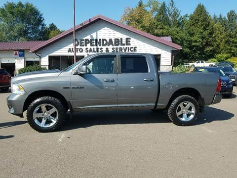 2010 Dodge Ram Pickup 1500 for sale at Dependable Auto Sales and Service in Binghamton NY