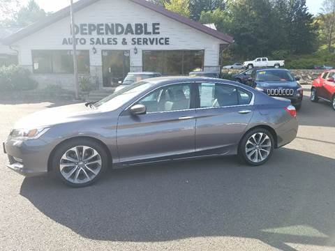 2014 Honda Accord for sale at Dependable Auto Sales and Service in Binghamton NY