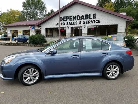 2014 Subaru Legacy for sale at Dependable Auto Sales and Service in Binghamton NY