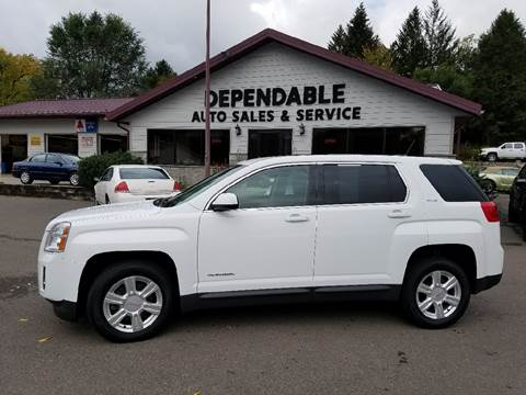 2015 GMC Terrain for sale at Dependable Auto Sales and Service in Binghamton NY