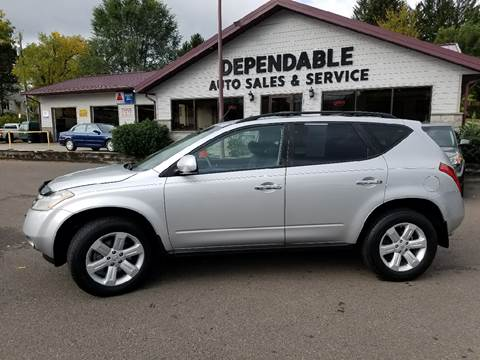 2007 Nissan Murano for sale at Dependable Auto Sales and Service in Binghamton NY