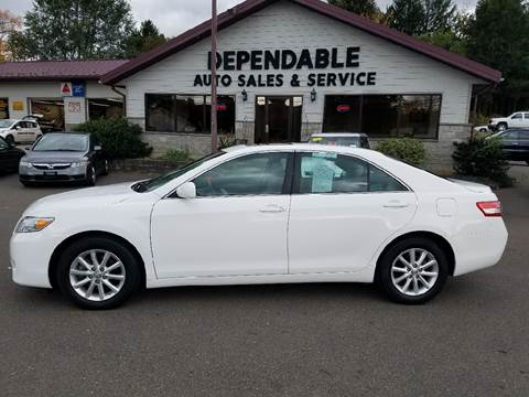 2011 Toyota Camry for sale at Dependable Auto Sales and Service in Binghamton NY