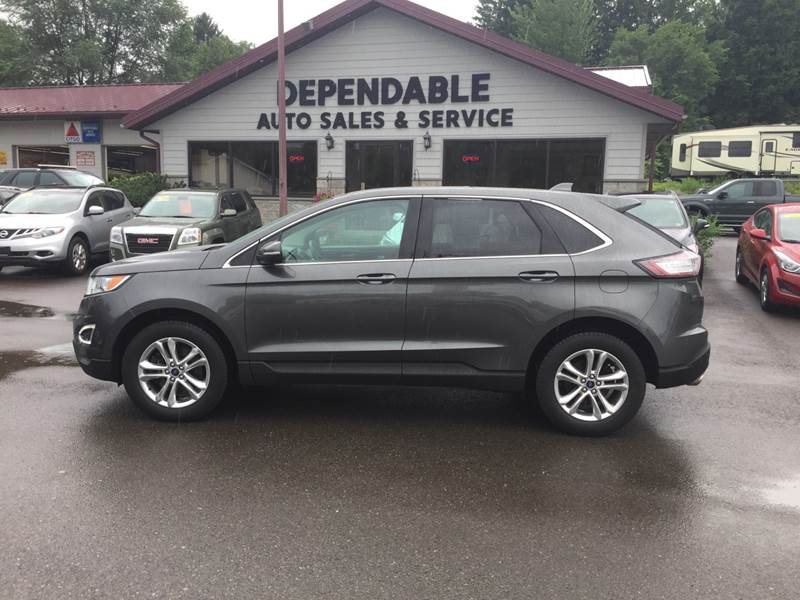 2015 Ford Edge For Sale >> 2015 Ford Edge Sel In Binghamton Ny Dependable Auto Sales And Service