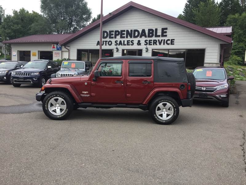 2009 Jeep Wrangler Unlimited For Sale At Dependable Auto Sales And Service  In Binghamton NY