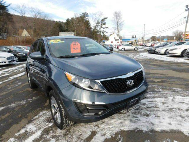 2015 Kia Sportage for sale at Dependable Auto Sales and Service in Binghamton NY