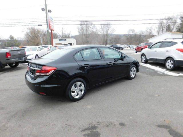 2014 Honda Civic for sale at Dependable Auto Sales and Service in Binghamton NY