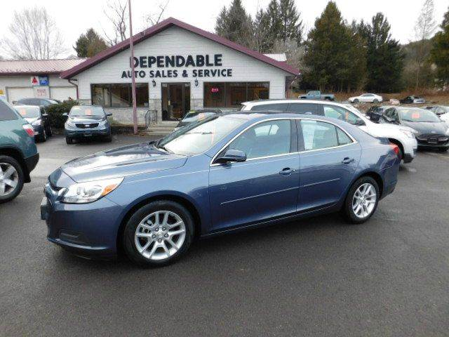 2014 Chevrolet Malibu for sale at Dependable Auto Sales and Service in Binghamton NY
