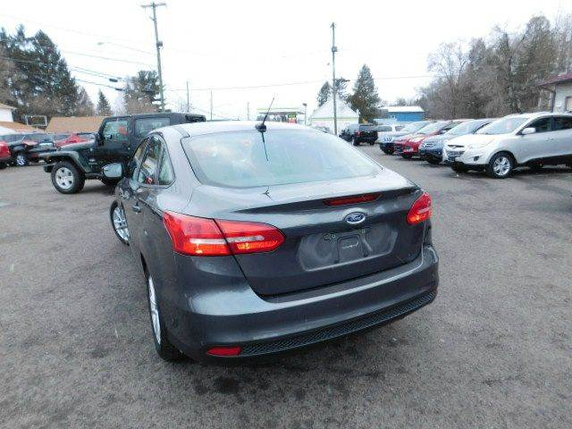 2015 Ford Focus for sale at Dependable Auto Sales and Service in Binghamton NY