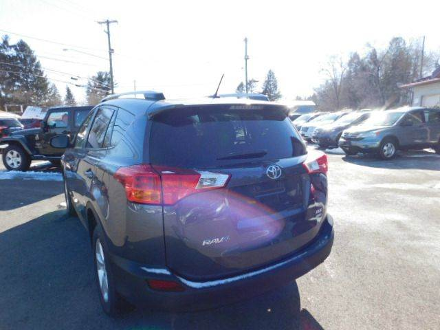 2014 Toyota RAV4 for sale at Dependable Auto Sales and Service in Binghamton NY