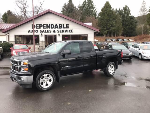 2014 Chevrolet Silverado 1500 for sale at Dependable Auto Sales and Service in Binghamton NY