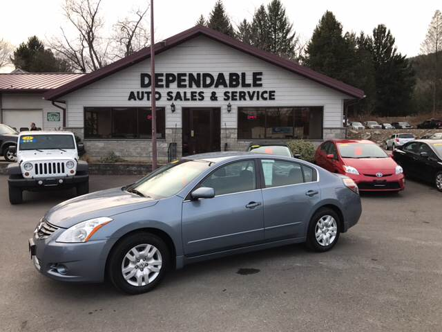 2012 Nissan Altima for sale at Dependable Auto Sales and Service in Binghamton NY