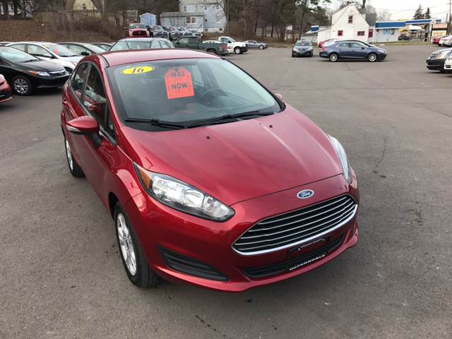 2016 Ford Fiesta for sale at Dependable Auto Sales and Service in Binghamton NY
