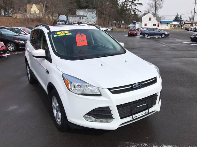 2015 Ford Escape for sale at Dependable Auto Sales and Service in Binghamton NY