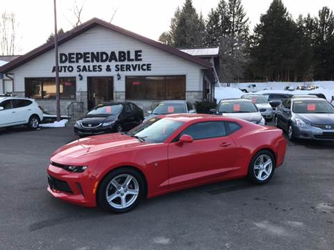 2016 Chevrolet Camaro for sale at Dependable Auto Sales and Service in Binghamton NY