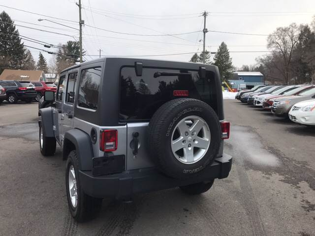 2015 Jeep Wrangler Unlimited for sale at Dependable Auto Sales and Service in Binghamton NY