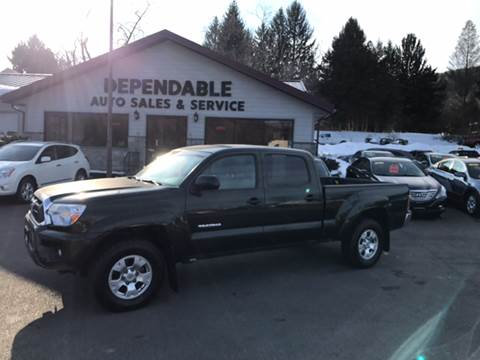 2014 Toyota Tacoma for sale at Dependable Auto Sales and Service in Binghamton NY