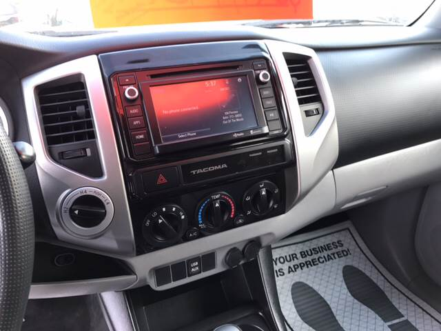 2015 Toyota Tacoma for sale at Dependable Auto Sales and Service in Binghamton NY