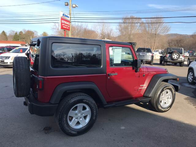 2013 Jeep Wrangler for sale at Dependable Auto Sales and Service in Binghamton NY