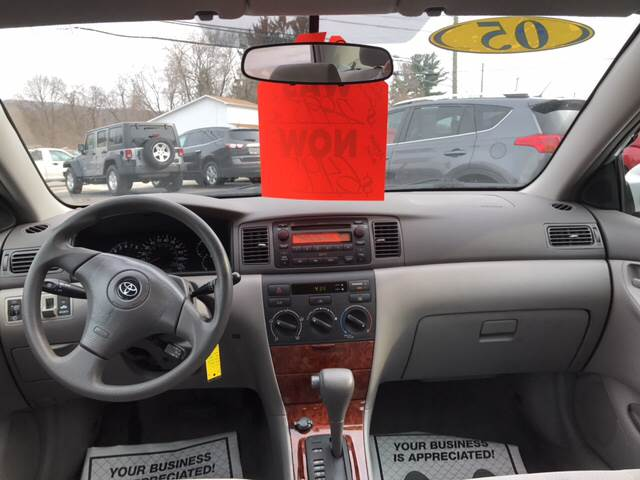 2005 Toyota Corolla for sale at Dependable Auto Sales and Service in Binghamton NY
