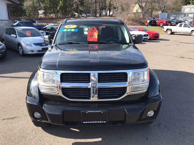 2007 Dodge Nitro for sale at Dependable Auto Sales and Service in Binghamton NY