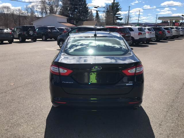 2014 Ford Fusion for sale at Dependable Auto Sales and Service in Binghamton NY