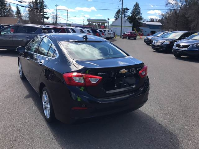 2016 Chevrolet Cruze for sale at Dependable Auto Sales and Service in Binghamton NY