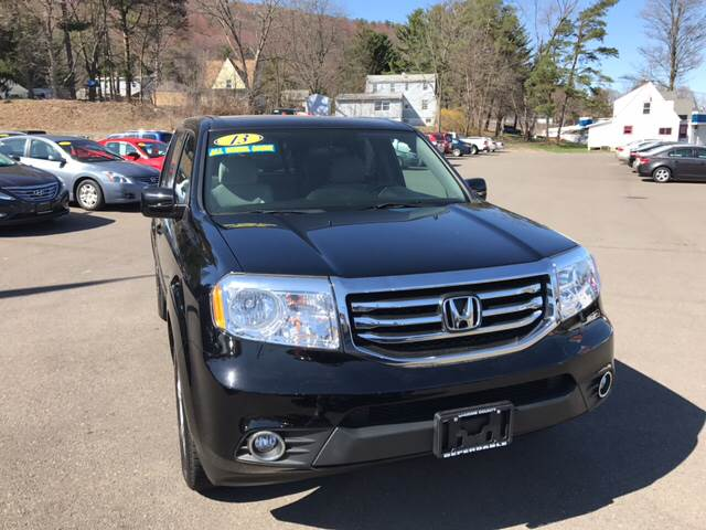 2013 Honda Pilot for sale at Dependable Auto Sales and Service in Binghamton NY