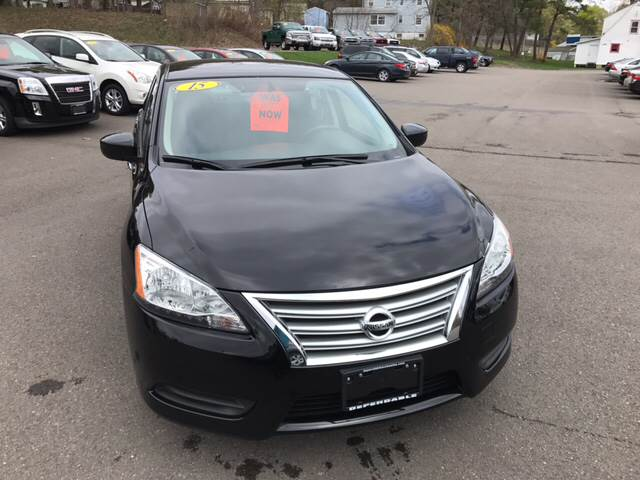 2015 Nissan Sentra for sale at Dependable Auto Sales and Service in Binghamton NY