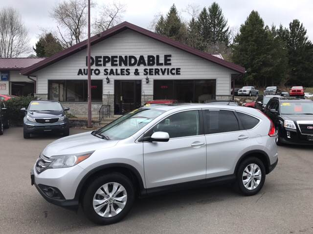 2013 Honda CR-V for sale at Dependable Auto Sales and Service in Binghamton NY