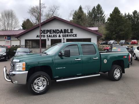 2009 Chevrolet Silverado 2500HD for sale at Dependable Auto Sales and Service in Binghamton NY