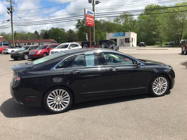 2013 Lincoln MKZ for sale at Dependable Auto Sales and Service in Binghamton NY