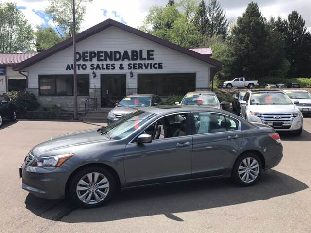 2011 Honda Accord for sale at Dependable Auto Sales and Service in Binghamton NY