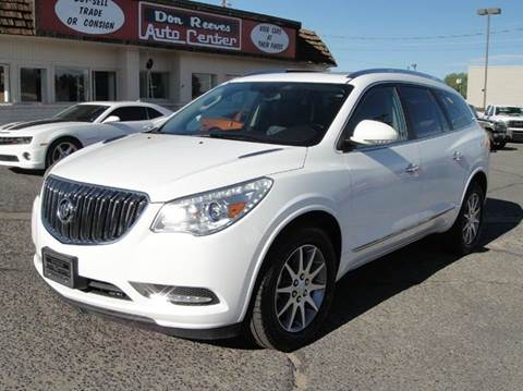 2016 Buick Enclave for sale at Don Reeves Auto Center in Farmington NM