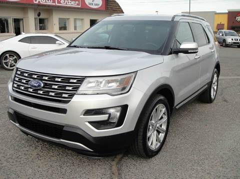 2016 Ford Explorer for sale at Don Reeves Auto Center in Farmington NM