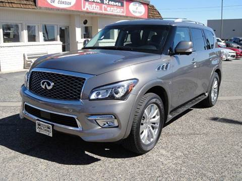 2016 Infiniti QX80 for sale at Don Reeves Auto Center in Farmington NM